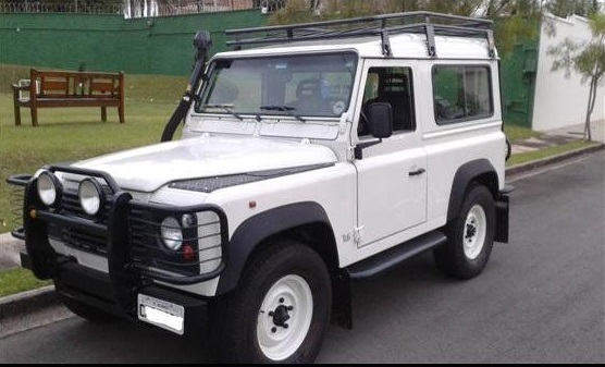 Ficha Técnica - Land Rover Defender 90 SW 2.5 Turbo