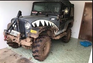 Jeep Willys 1973