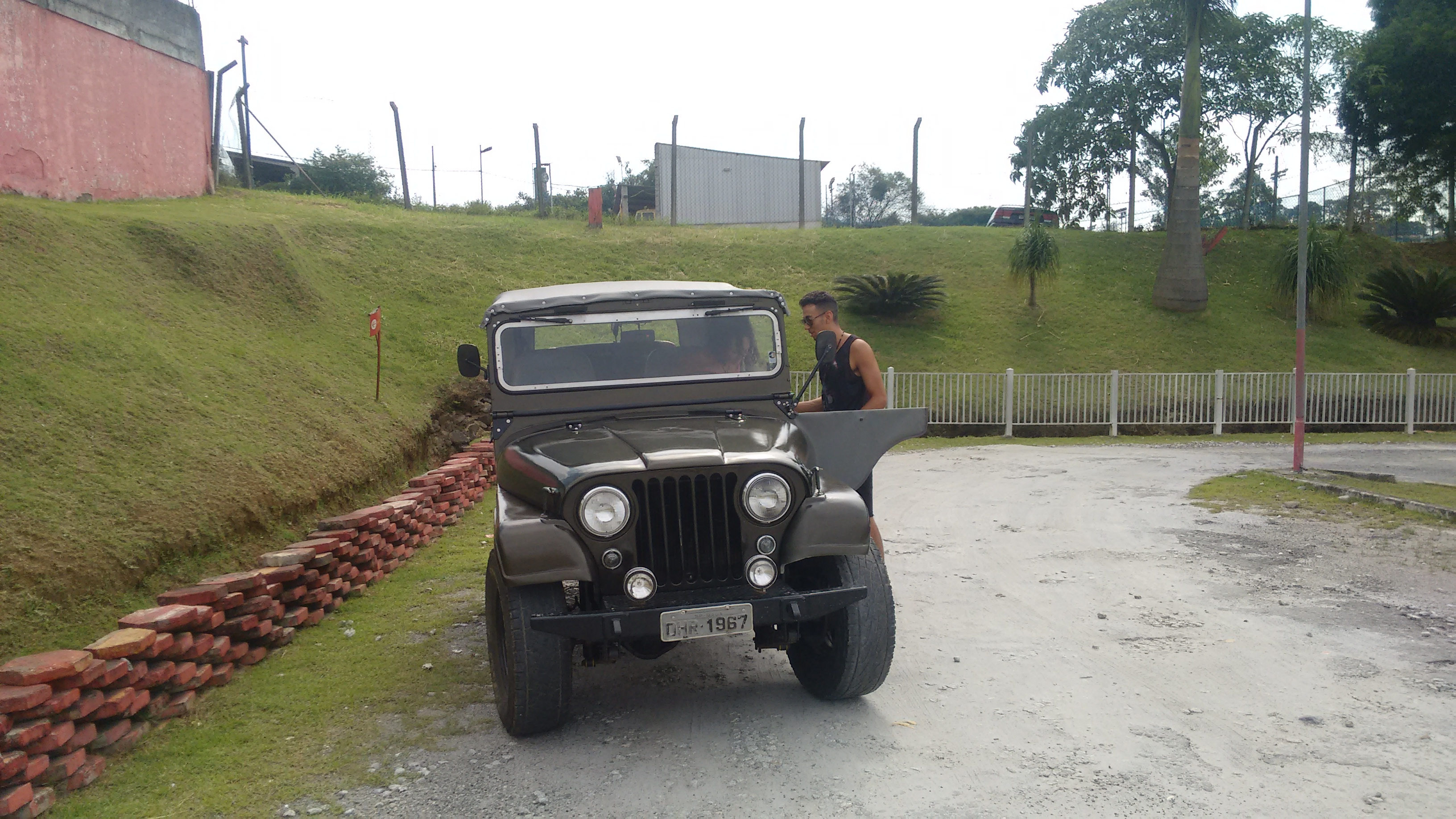 Jeep Willys 1967 Militar